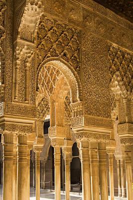 Alhambra Palace - Granada Spain Poster by Jon Berghoff