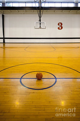 An Indoor Sports Venue. Basketball Poster