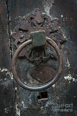 Antique Door Knocker Poster by Elena Elisseeva