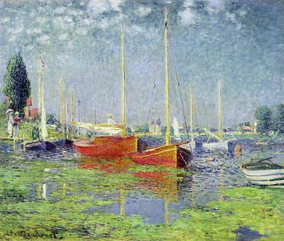 Argenteuil Poster by Claude Monet