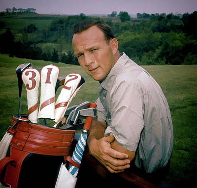 Arnold Palmer Detail Painting Poster