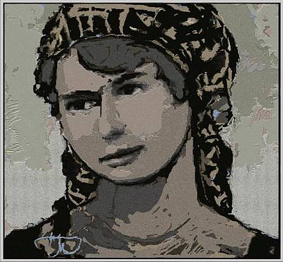 Artist Milka Tsenova Poster