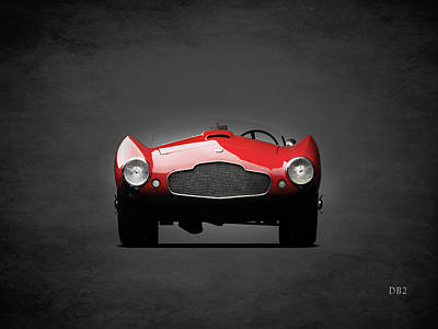 The Db2 Bertone Spider Poster by Mark Rogan