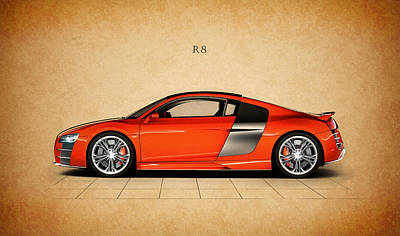 The R8 Poster by Mark Rogan