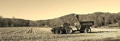 Autumn Harvest Southern Indiana Poster by Scott D Van Osdol