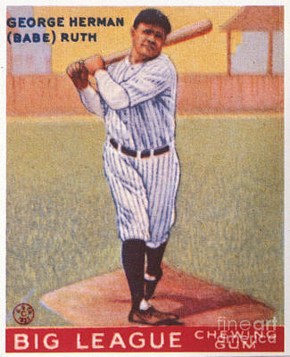 Babe Ruth (1895-1948) Poster by Granger