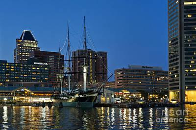Baltimore Inner Harbor  Poster