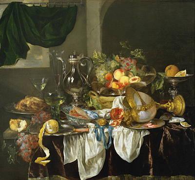 Banquet Still Life Poster