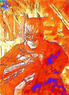 Batman The Art Poster by Egor Vysockiy