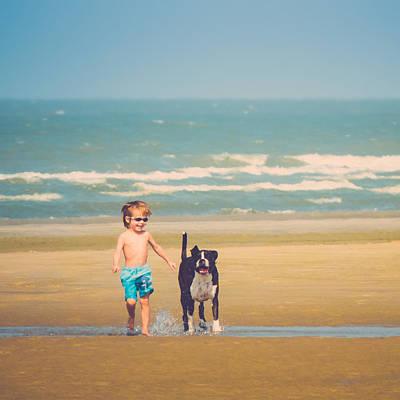 Best Friends Poster by Wim Lanclus