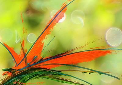 Bird Of Paradise 2 Poster by Kume Bryant