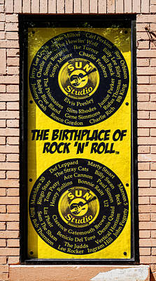 Birthplace Of Rock N Roll Poster by Stephen Stookey