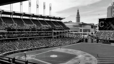 Bleacher View - Progressive Field, Cleveland Poster
