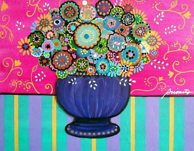 Blooms Poster by Pristine Cartera Turkus