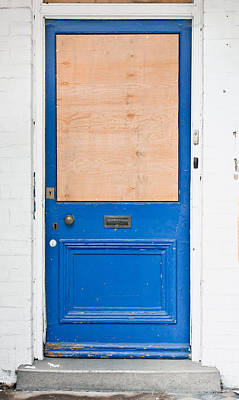 Boarded Up Poster by Tom Gowanlock