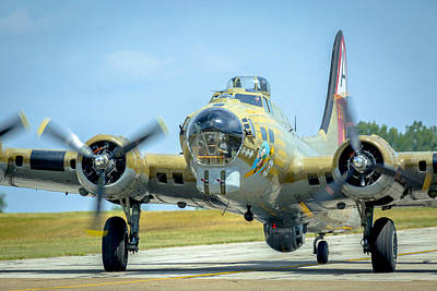 Boeing B-17g Flying Fortress   Poster