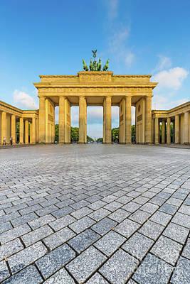 Brandenburg Gate Poster by JR Photography