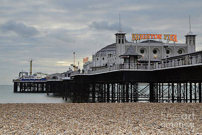 Brighton Pier Poster by Nichola Denny
