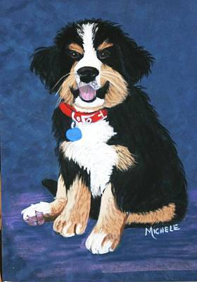 Burmese Mountain Pup Poster