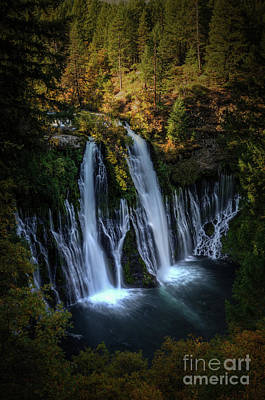 Poster featuring the photograph Burney Falls by Kelly Wade