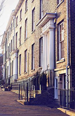 Bury St Edmunds Buildings Poster by Tom Gowanlock