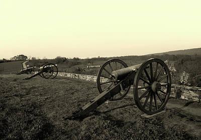 Cannon At Antietam Battleground  Poster
