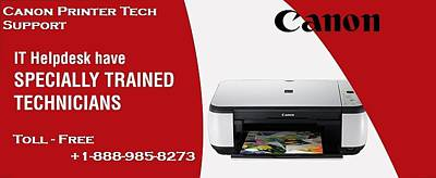 Canon Printer Tech Support Poster