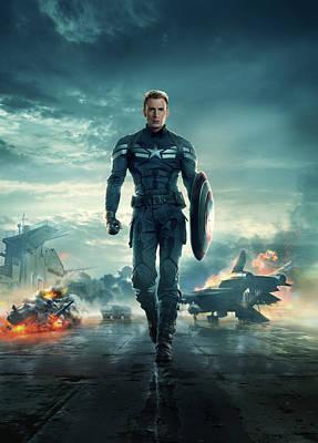 Captain America The First Avenger 2011 Poster