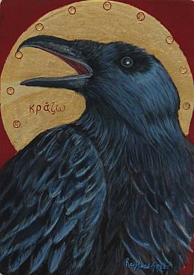 Caw Poster by Amy Reisland-Speer