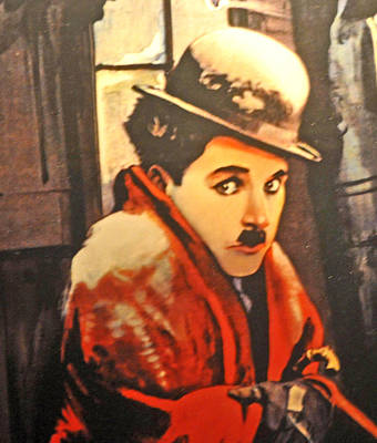 Charlie Chaplin Poster by Jay Milo