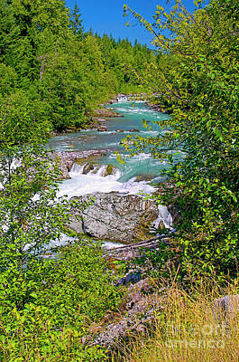 Poster featuring the photograph Cheakamus River by Sharon Talson