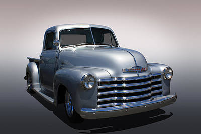 Chevy Pickup Poster by Keith Hawley