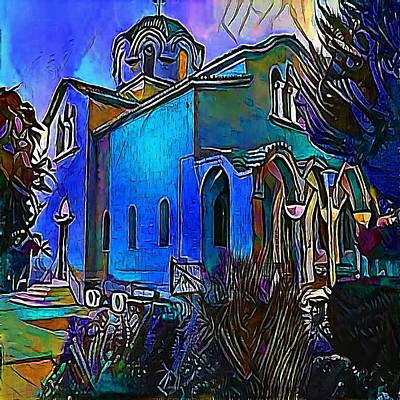 church - My WWW vikinek-art.com Poster by Viktor Lebeda