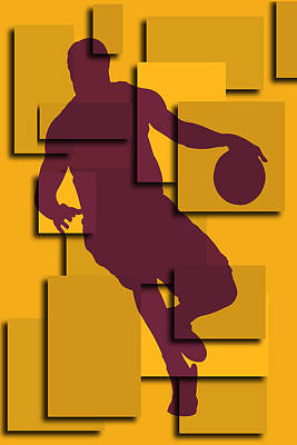 Cleveland Cavaliers Lebron James Poster by Joe Hamilton
