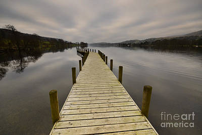 Coniston Water Poster by Nichola Denny