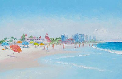 Coronado Beach - San Diego Poster
