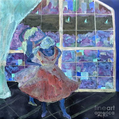 Dansarinas Poster by Reina Resto