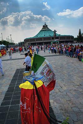 Danza Basilica De Guadalupe - Mexico Poster