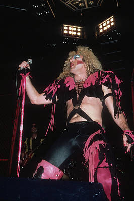 Dee Snider Of Twisted Sister Poster