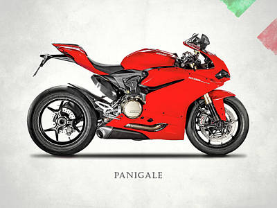 Ducati Panigale 1299 Poster by Mark Rogan