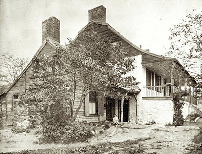 Poster featuring the photograph Dyckman House by Cole Thompson