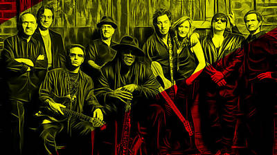 E Street Band Collection Poster by Marvin Blaine