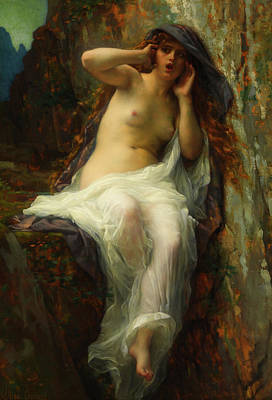 Poster featuring the painting Echo by Alexandre Cabanel