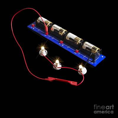 Electrical Circuit Poster by Spl