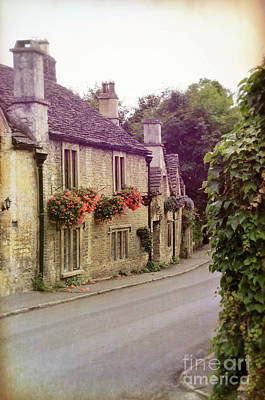 English Village Poster by Jill Battaglia