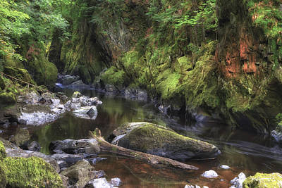 Fairy Glen - Wales Poster by Joana Kruse