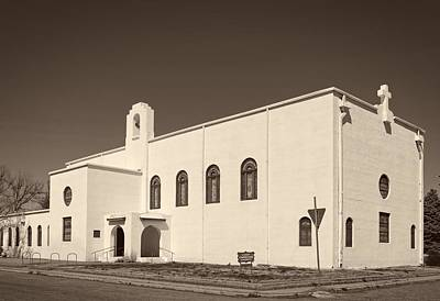 First Christian Church Of Marfa Texas Poster by Mountain Dreams