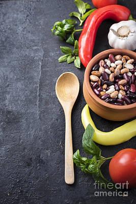 Food Ingredients Poster by Jelena Jovanovic
