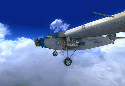 Ford Trimotor Poster