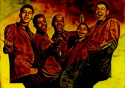 Frankie Lymon Collection Poster